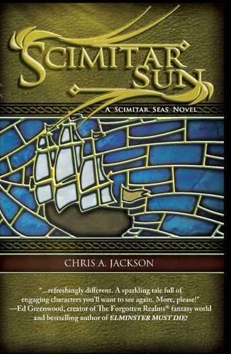 Scimitar Sun by Chris A Jackson 00077