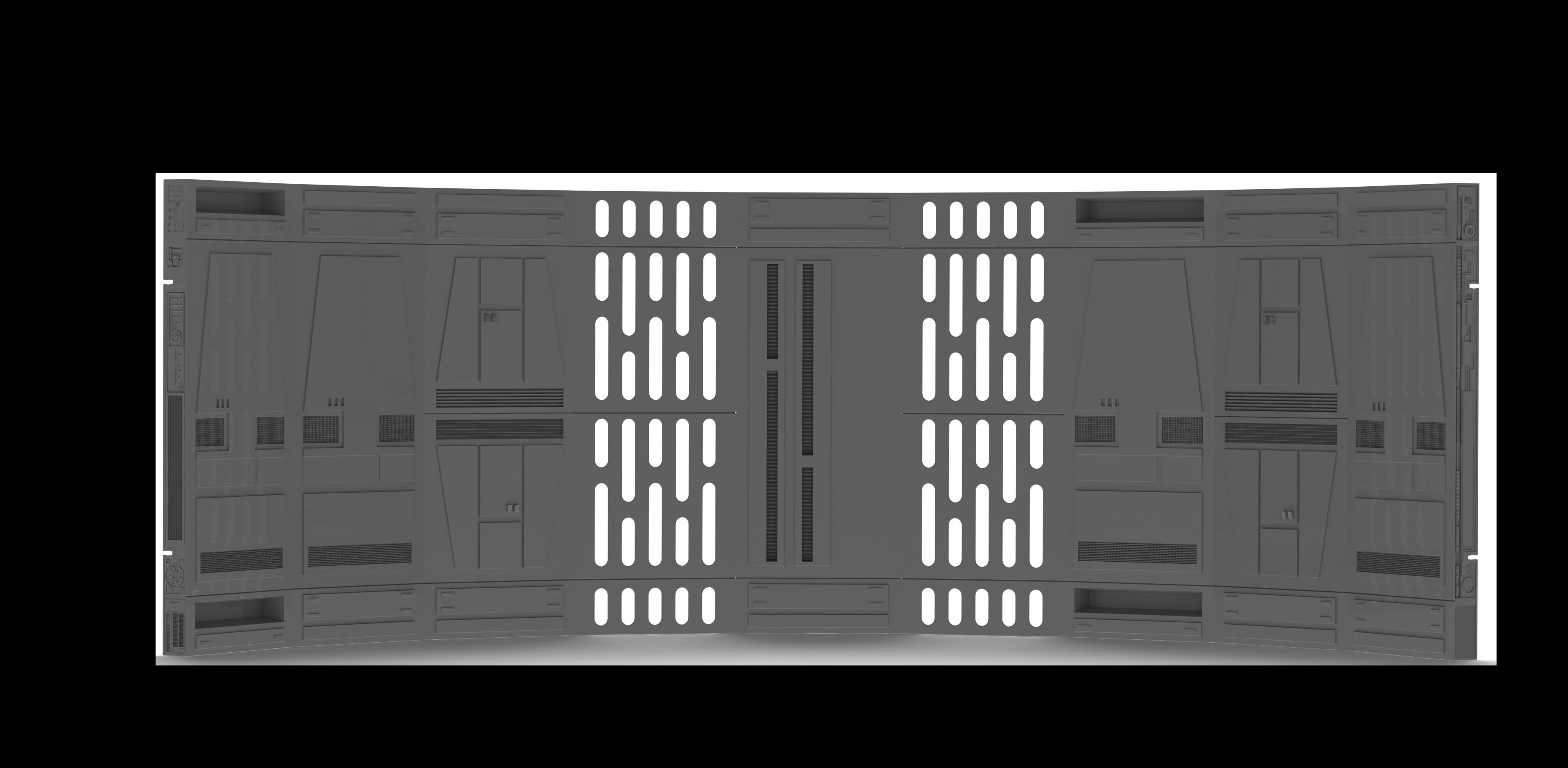 """1:12 Scale SPACEWALLS 9PC starter set for 6"""" figures - BACKORDER"""