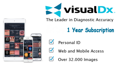 VisualDX - The Leader in Diagnostic Accuracy 1 year (NEW)