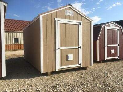 08 x 14 Utility Shed - Dutch Country - Repo