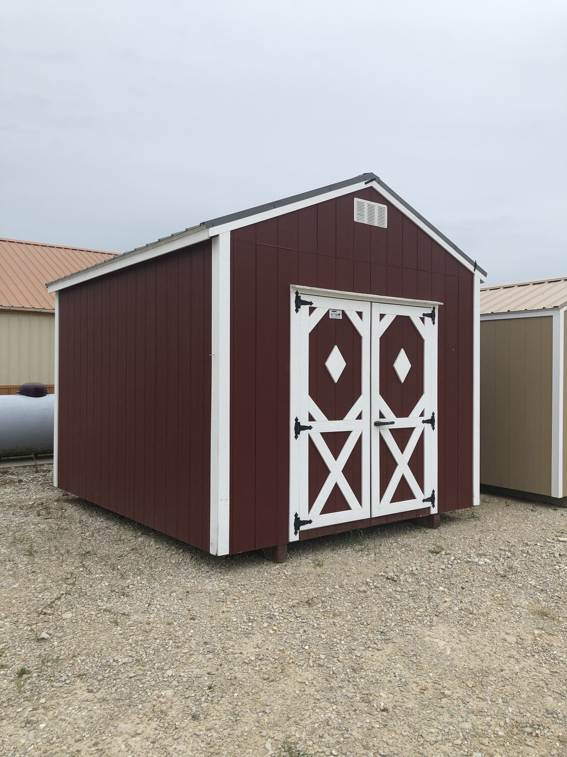 10 x 12 Utility Shed - Repo