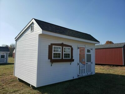 10 X 16 Quaker Shed - Chateau $82.03/month