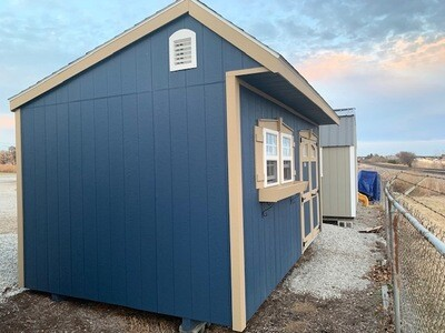 10 X 16 Quaker Shed - Chateau $76.44/month