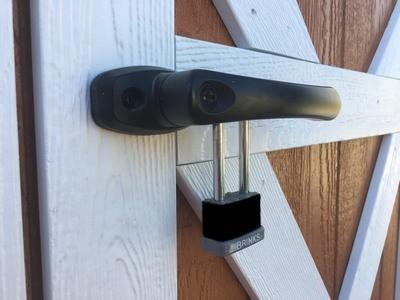 Heavy Duty Door Latch  for Shed Door (padlock not included)