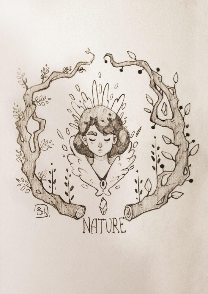 """Открытка """"Природа"""""""