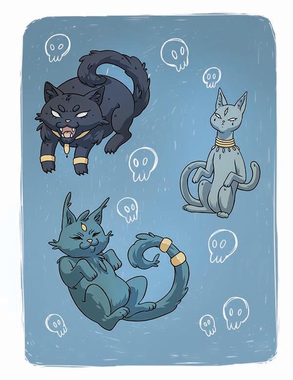 """Открытка """"Коты"""""""