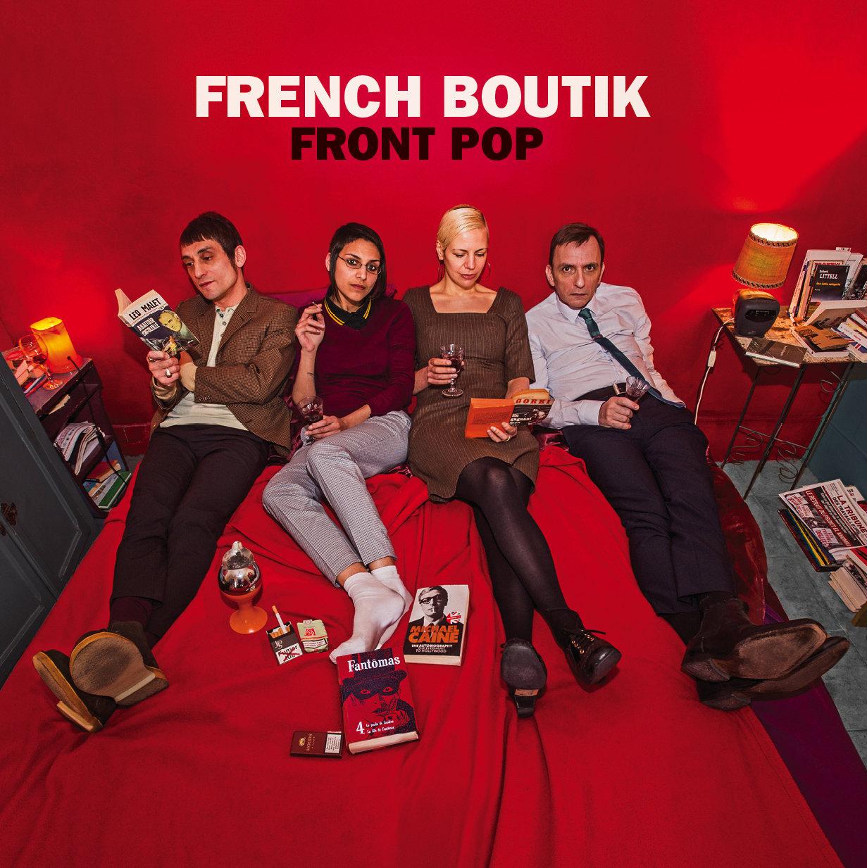 Front Pop Red Vinyl Album w/ intl ship