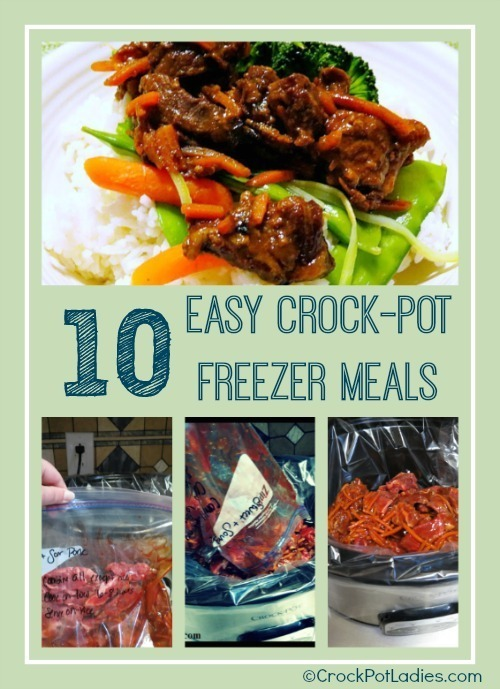 10 Easy Crock-Pot Freezer Meals 00000001