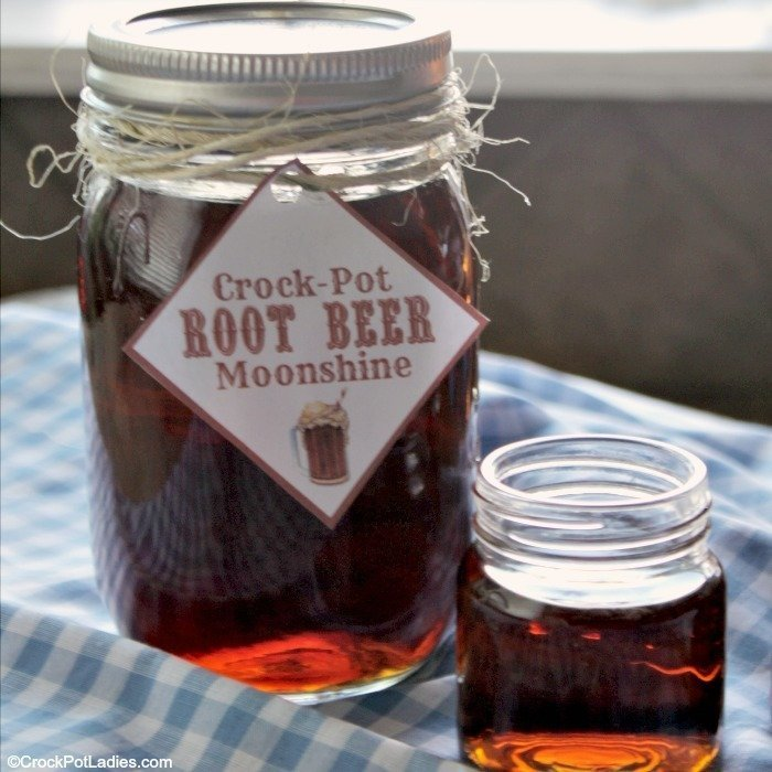 Root Beer Moonshine Labels
