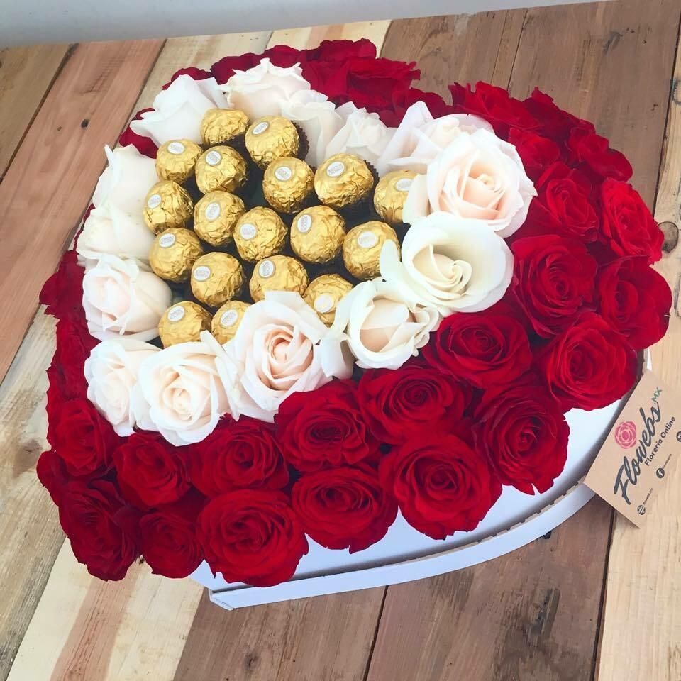 Cuore - Rosas y Chocolates