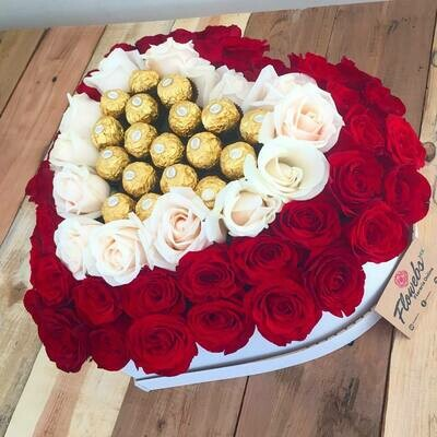 Cuore - Rosas y Chocolates
