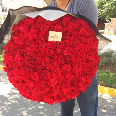 Bouquet de 300 Rosas