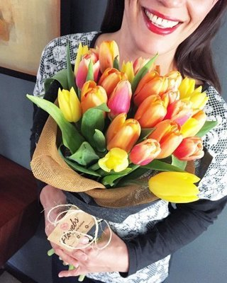 Bouquet 30 Tulipanes