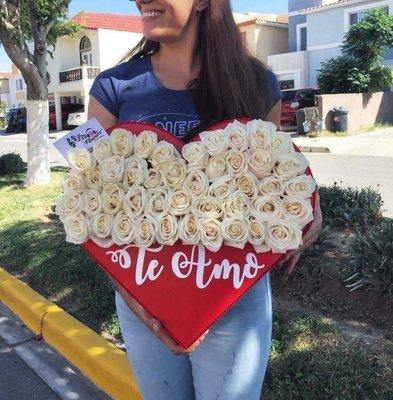 Te Amo - Corazón Rojo