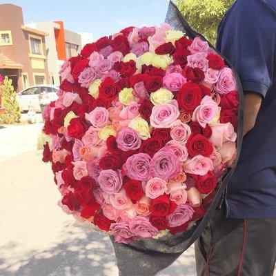Bouquet de 250 Rosas
