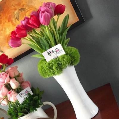 20 Tulipanes en Cristal