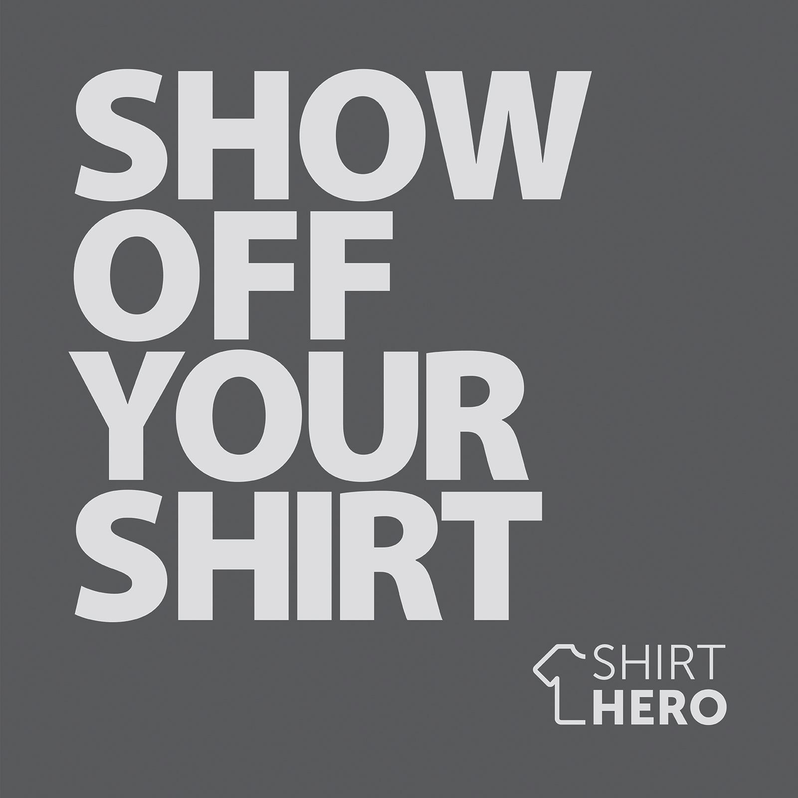 SHIRT HERO Shirt Display 3 PACK (White)