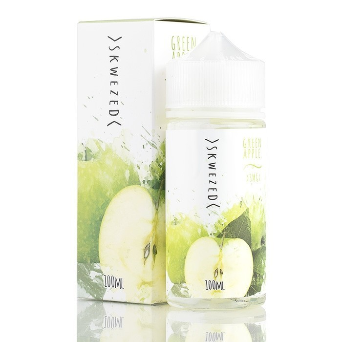 SKWEZED: GREEN APPLE 100ML