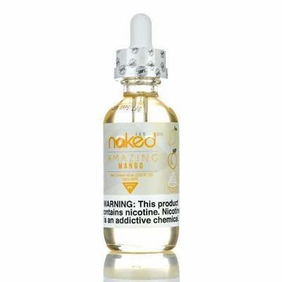 NAKED: AMAZING MANGO ICE 60ML
