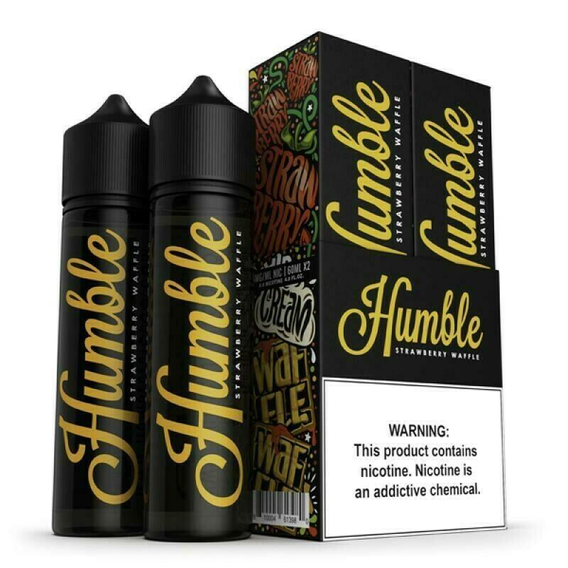 HUMBLE: STRAWBERRY WAFFLE 60ML
