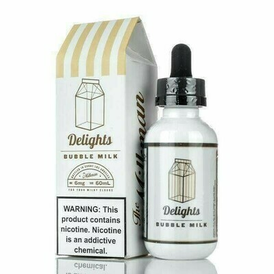 THE MILKMAN : DELIGHTS BUBBLE MILK 60ML