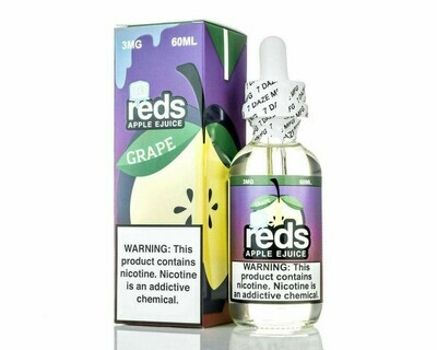 7 DAZE REDS: GRAPE ON ICE 60ML