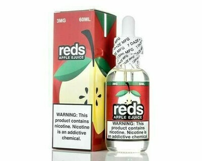 ЖИДКОСТЬ 7 DAZE REDS: APPLE 60ML