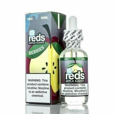 7 DAZE REDS: BERRIES ON ICE 60ML