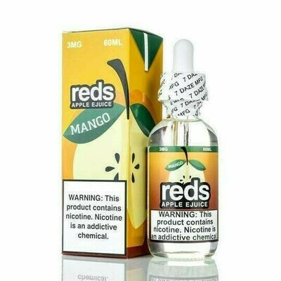 7 DAZE REDS: MANGO 60ML