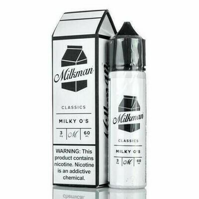 ЖИДКОСТЬ THE MILKMAN E-LIQUID: MILKY O'S 60ML