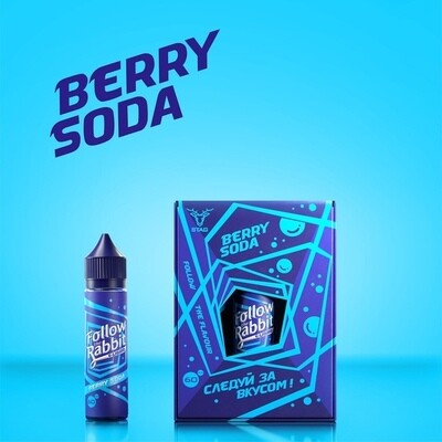 FOLLOW THE RABBIT: BERRY SODA 60ML
