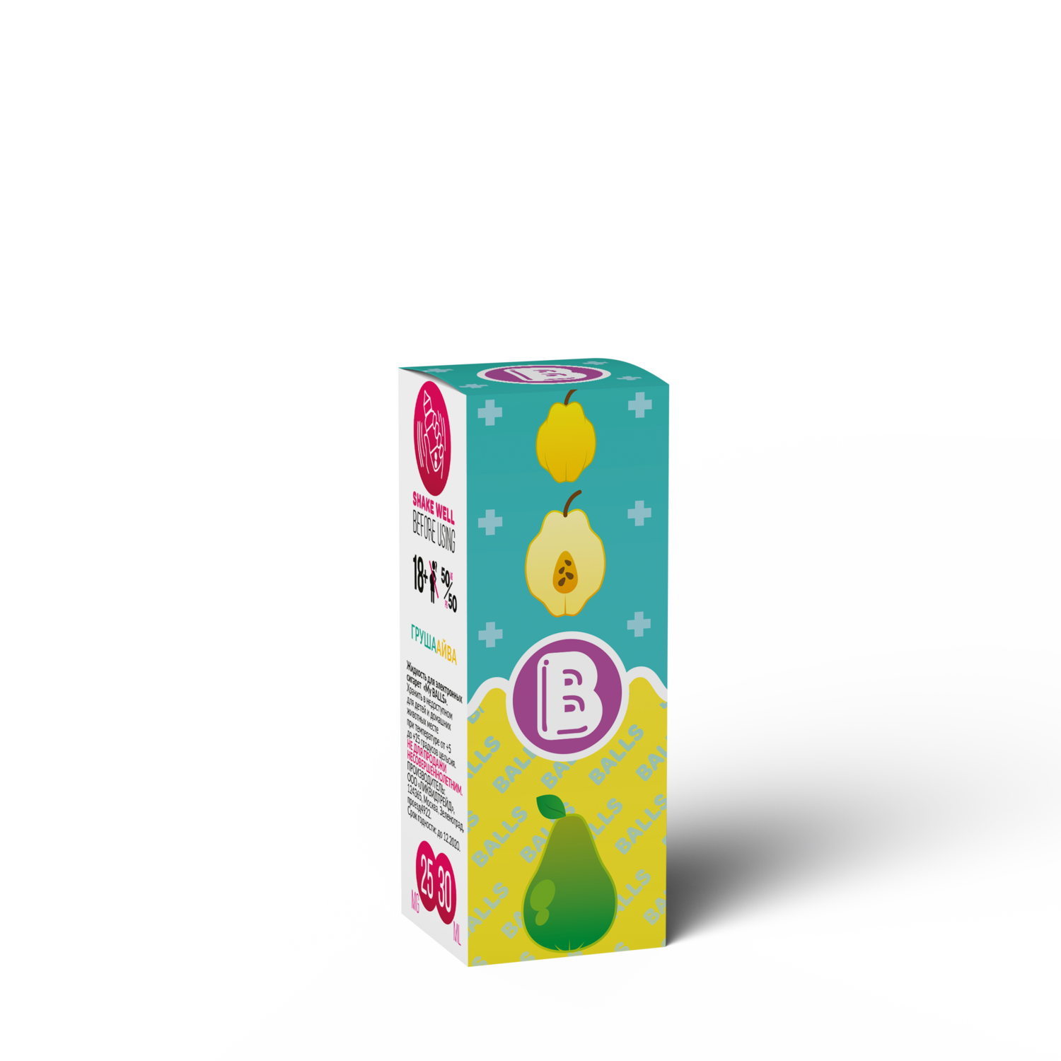 BALLS: PEAR QUINCE SALT  30ML