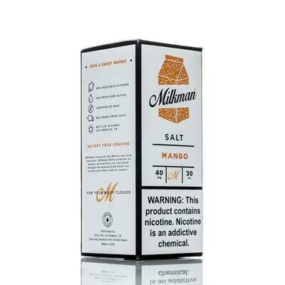ЖИДКОСТЬ THE MILKMAN SALT: MANGO 30ML