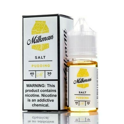 ЖИДКОСТЬ THE MILKMAN SALT: PUDDING 30ML