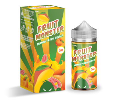 ЖИДКОСТЬ FRUIT MONSTER: MANGO PEACH GUAVA 100ML