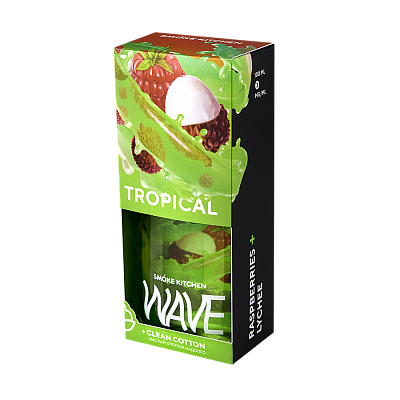 ЖИДКОСТЬ SMOKE KITCHEN WAVE: TROPICAL WAVE 100ML