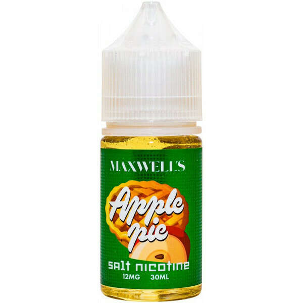 ЖИДКОСТЬ MAXWELLS: APPLE PIE  SALT 30ML