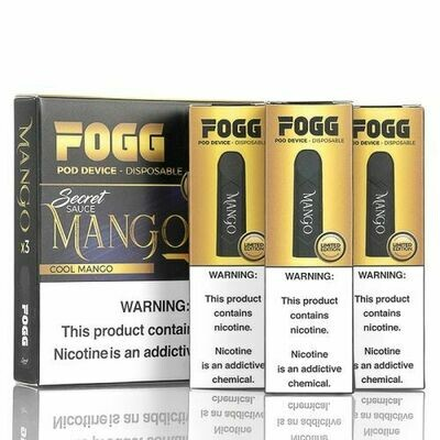 FOGG VAPE DISPOSABLE POD: COOL MANGO