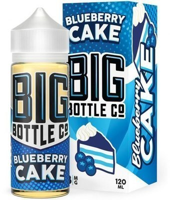 BIG BOTTLE: BLUEBERRY CAKE 120ML