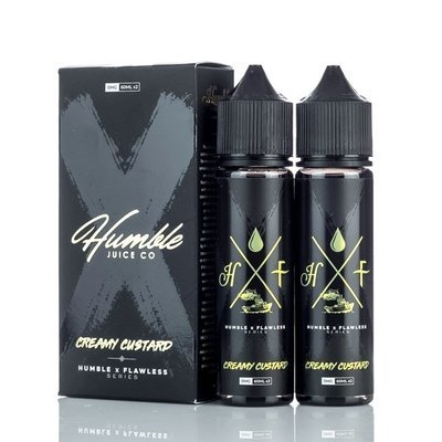 ЖИДКОСТЬ HUMBLE X FLAWLESS: СREAMY CUSTARD 60ML