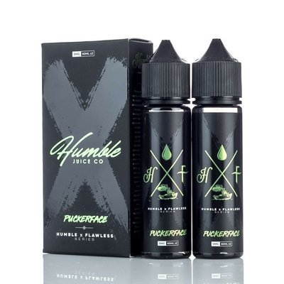 HUMBLE X FLAWLESS: PUCKERFACE 60ML