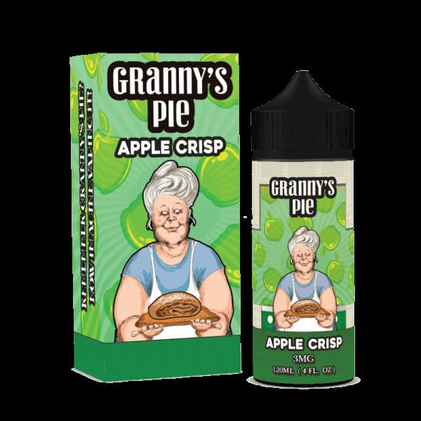 GRANNY'S PIE:  APPLE CRISP 120ML