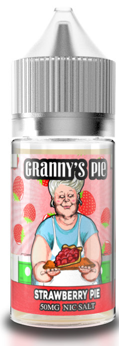 GRANNY'S PIE SALTS: STRAWBERRY PIE 30ML