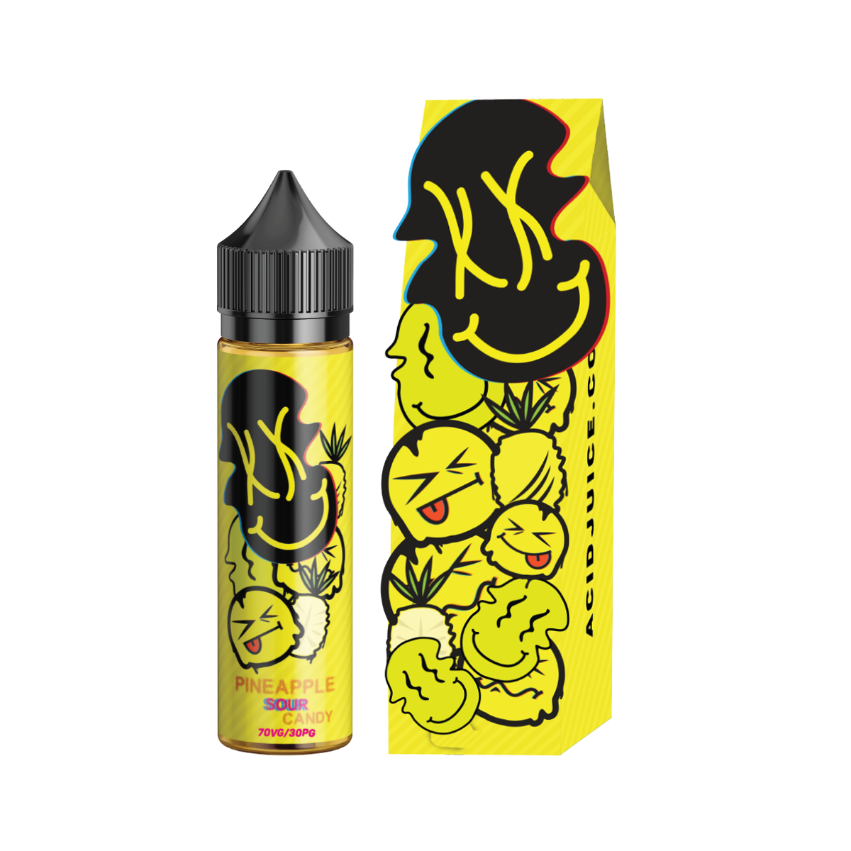 ACID JUICE: PINEAPPLE SOUR 60ML