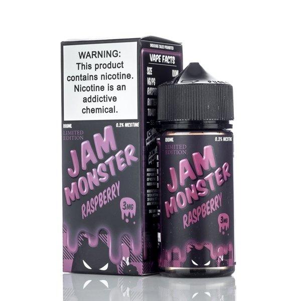 JAM MONSTER: RASPBERRY JAM 100ML