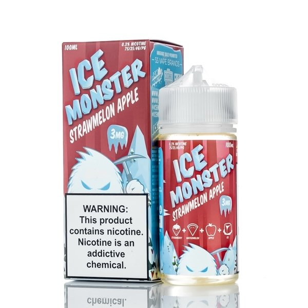 ICE MONSTER: STRAWMELON APPLE 100ML