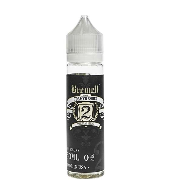 TOBACCO SERIES BY BREWELL: #2 ORIGINAL BLEND 55ML