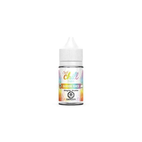 CHILL SALT E-LIQUID: RAINBOW PUNCH 30ML