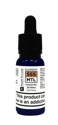 ELEMENTS MTL: TOBACCO 20ML