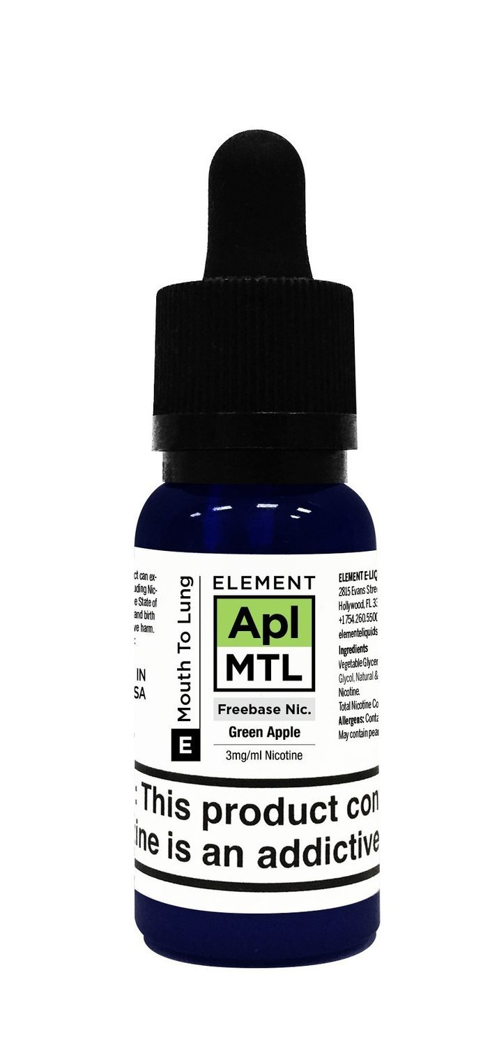 ELEMENTS MTL: GREEN APPLE 20ML